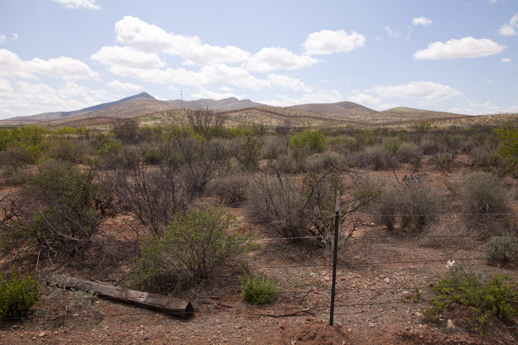 Borderwall between United States and Mexico