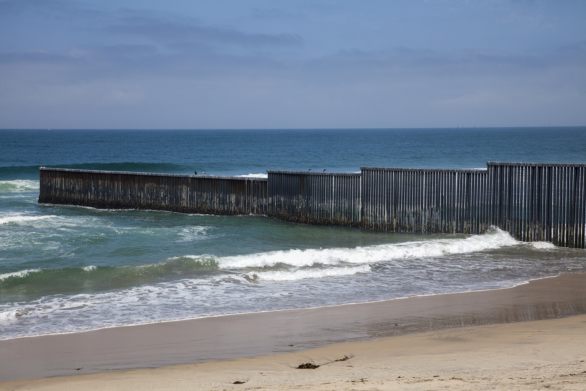 Borderwall between Mexico and United States